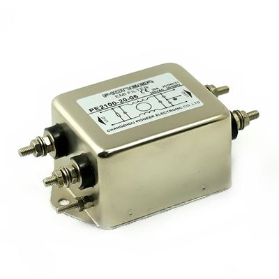 PE2100 Single Phase Single Stage Noise Filter