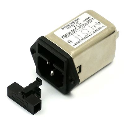 PE8100/8200 IEC EMC/EMI Filter With Fuse Holder