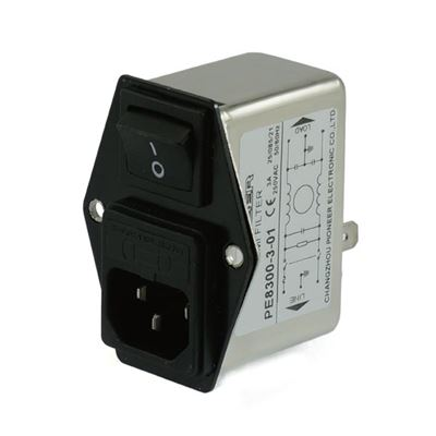 PE8300/8400 Compact power entry module emi filter
